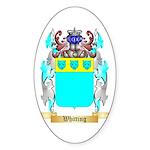 Whitting Sticker (Oval)