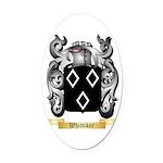 Whittiker Oval Car Magnet
