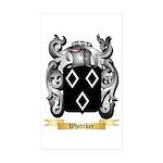 Whittiker Sticker (Rectangle 50 pk)