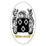Whittiker Sticker (Oval 10 pk)