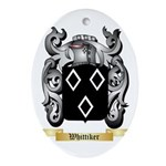 Whittiker Oval Ornament