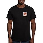 Whitte Men's Fitted T-Shirt (dark)