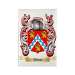 Whitte Rectangle Magnet (10 pack)