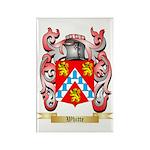 Whitte Rectangle Magnet (100 pack)