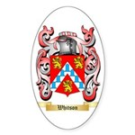 Whitson Sticker (Oval 50 pk)