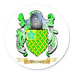 Whitmore Round Car Magnet