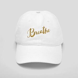 Gold Look Breathe Baseball Cap