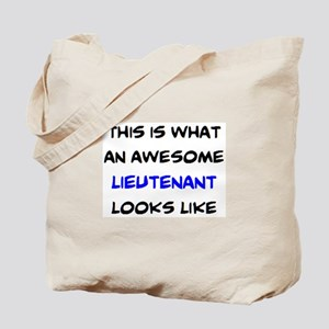 awesome lieutenant4 Tote Bag