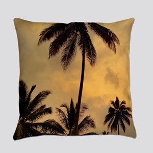 Photo 11 Palm Trees Everyday Pillow