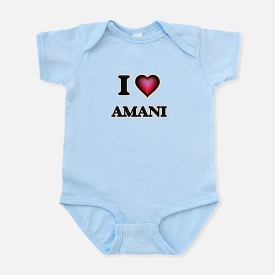 I Love Amani Body Suit