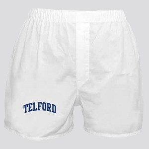 TELFORD design (blue) Boxer Shorts
