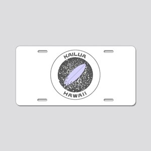 Hawaii - Kailua Aluminum License Plate