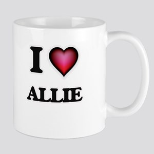I Love Allie Mugs