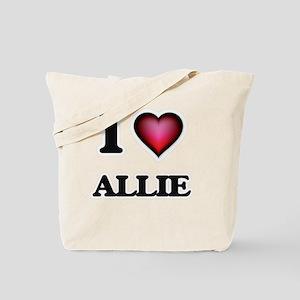 I Love Allie Tote Bag