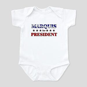 MARQUIS for president Infant Bodysuit