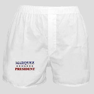 MARQUEZ for president Boxer Shorts