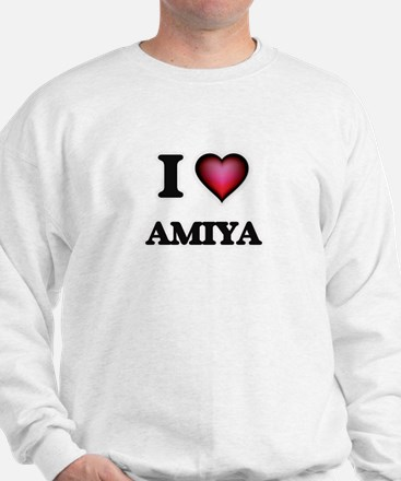 I Love Amiya Sweatshirt