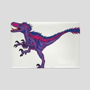 """Bi-Pride Raptor """"Bilociraptor"""" Magnets"""