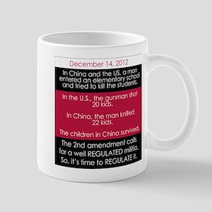 Newtown vs China Mugs
