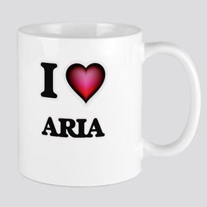 I Love Aria Mugs