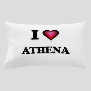 I Love Athena Pillow Case