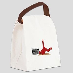 Break Dancer Canvas Lunch Bag