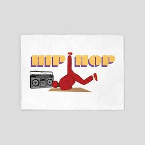 Hip Hop 5'x7'Area Rug