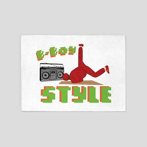 B-Boy Style 5'x7'Area Rug