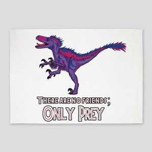 Bilociraptor - There Are No Friends ONLY PREY 5'x7