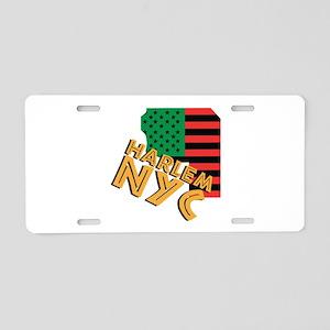 Harlem NYC Aluminum License Plate