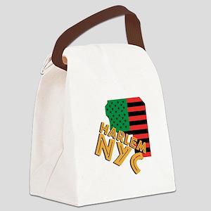 Harlem NYC Canvas Lunch Bag