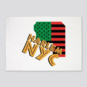 Harlem NYC 5'x7'Area Rug