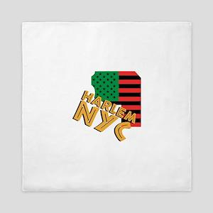 Harlem NYC Queen Duvet