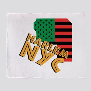 Harlem NYC Throw Blanket