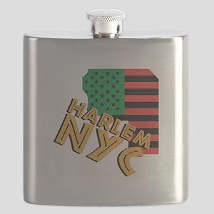 Harlem NYC Flask
