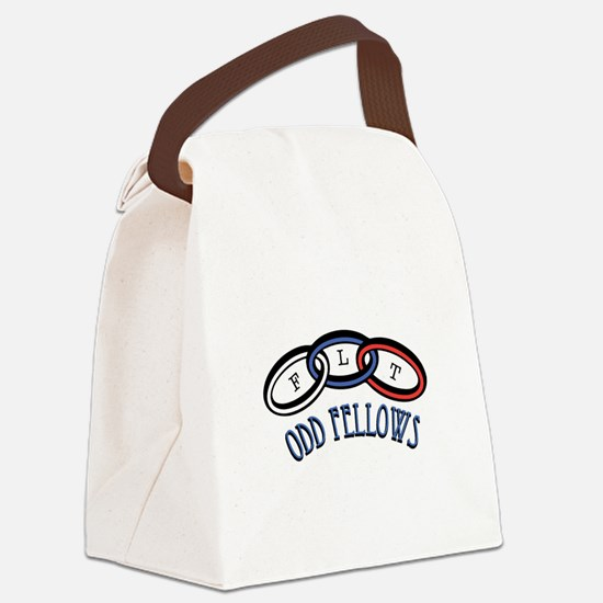 Odd Fellows Canvas Lunch Bag