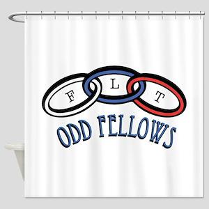 Odd Fellows Shower Curtain