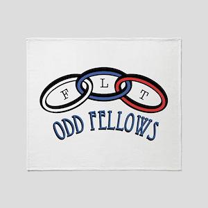 Odd Fellows Throw Blanket