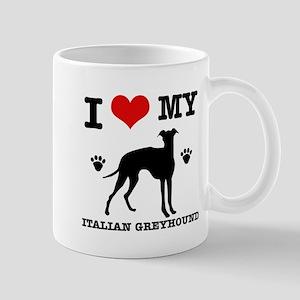 I Love My Italian Greyhound Mug