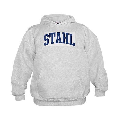 STAHL design (blue) Kids Hoodie