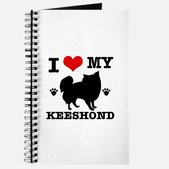 I Love My Keeshond Journal