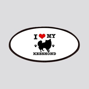 I Love My Keeshond Patch