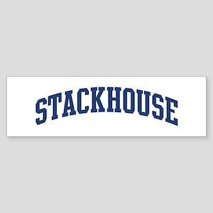 STACKHOUSE design (blue) Bumper Sticker