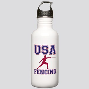 USA Fencing Stainless Water Bottle 1.0L