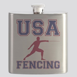USA Fencing Flask