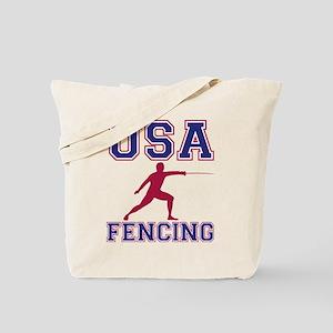 USA Fencing Tote Bag