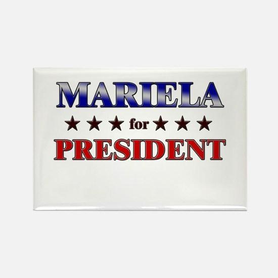 MARIELA for president Rectangle Magnet
