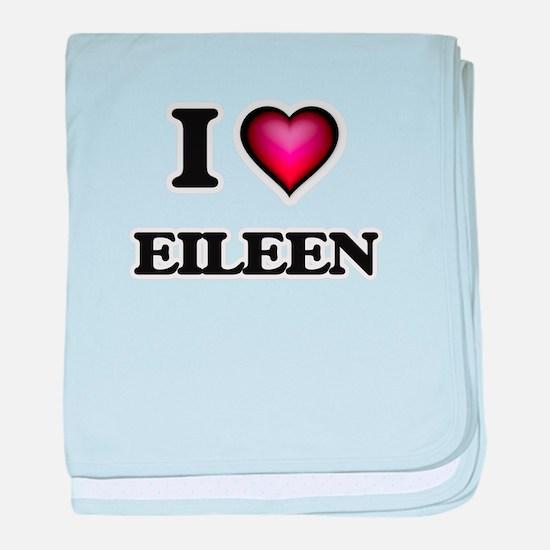 I Love Eileen baby blanket