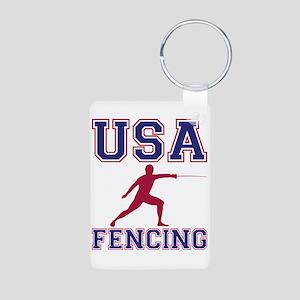 Usa Fencing Keychains