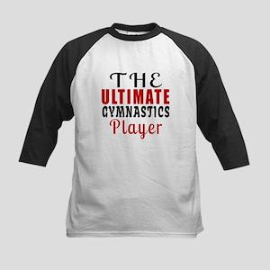 The Ultimate Gymnastics Playe Kids Baseball Jersey